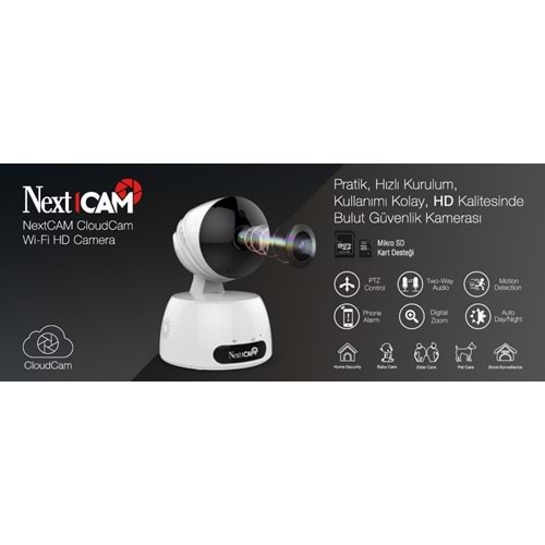 NEXTCAM CLOUD CAM İP KAMERA