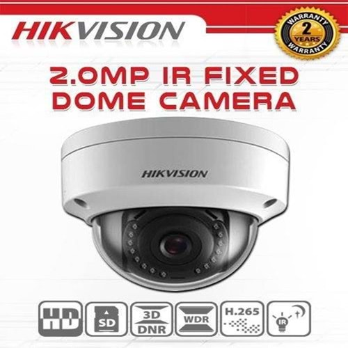HIKVISION DS-2CD2121G0-I/2AX 2MP 2.8MM 3DDNR DWDR IR DOME POE H265+ IP KAMERA