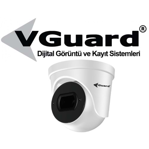 VGUARD VG-255-DF 2MP 4IN1 3.6MM SABİT LENS 25M DOME KAMERA