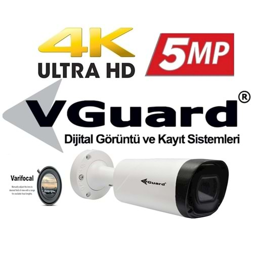 VGUARD VG-530-BV 5MP IP H.265 VARİFOCAL LENS 3,3-12MM BULLET KAMERA